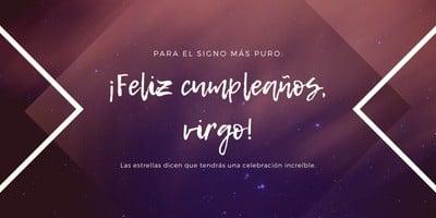 Post de cumpleaños para Twitter