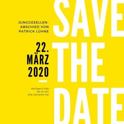 Save-the-Date-Einladung