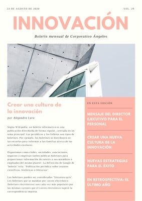 Newsletter para compañías