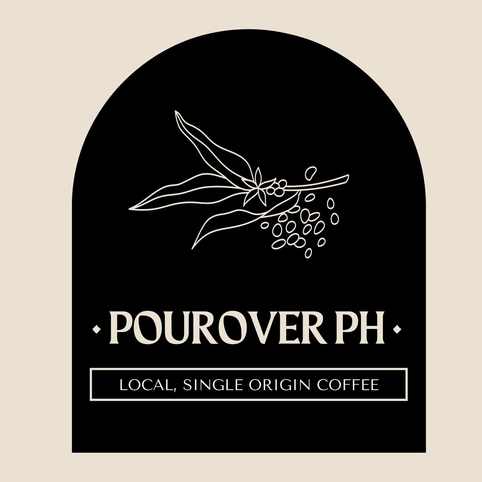 Cream and Black Local Single Origin Coffee Logo