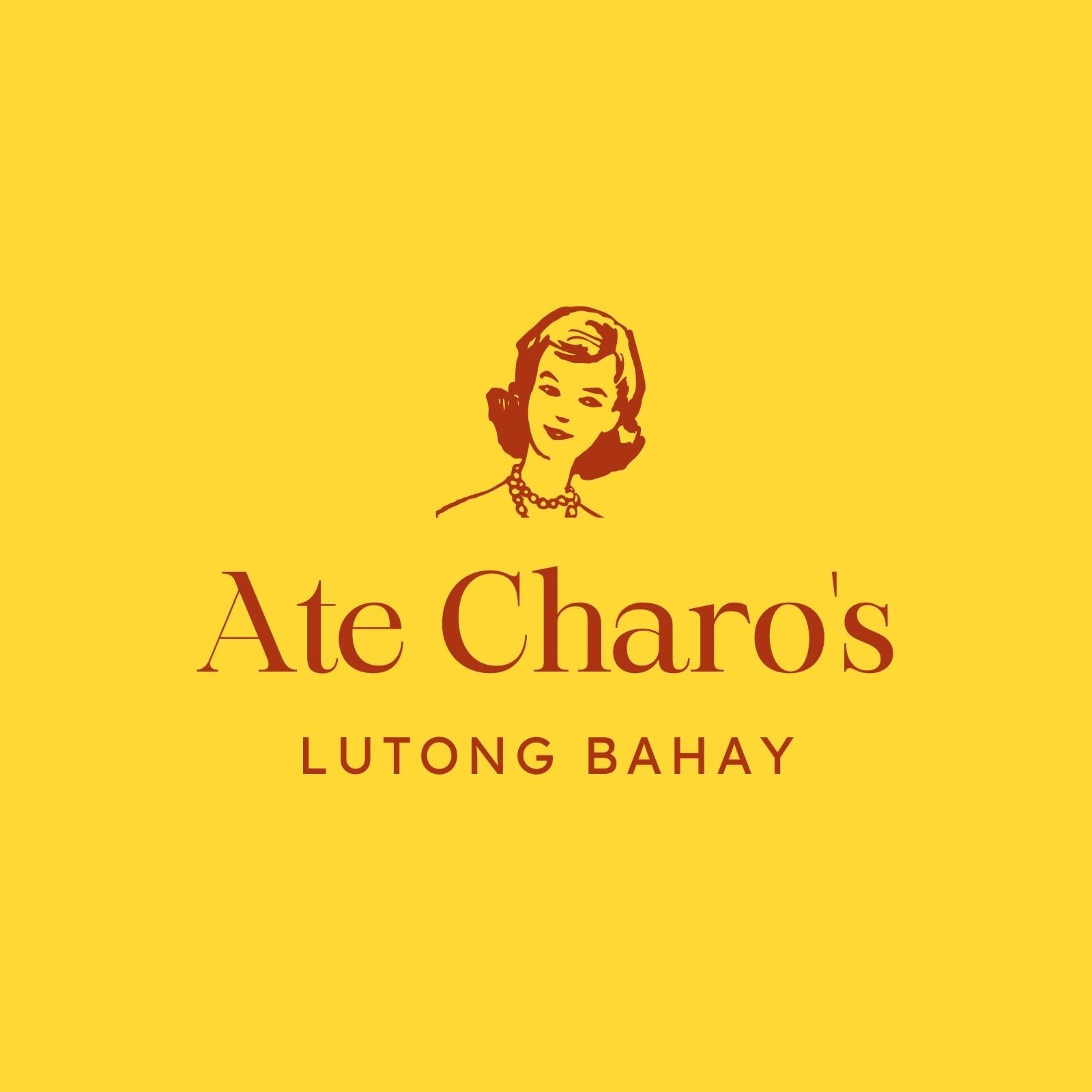 Yellow and Maroon Lutong Bahay Logo