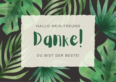 Dankeschön-Karten