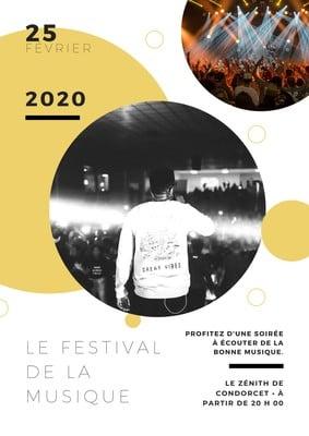Affiche d'événement