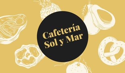 Tarjeta de presentación para restaurantes
